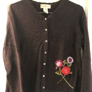 Pretty Sweater with bead detailing